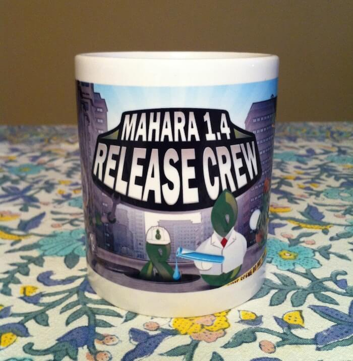 La tasse Mahara 1.4